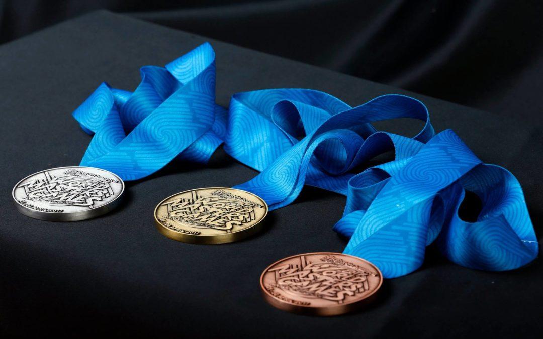 WMG2017 Medals